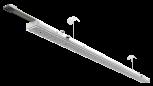 LED-Röhre (mit elekt. Vorschaltgerät EVG)
